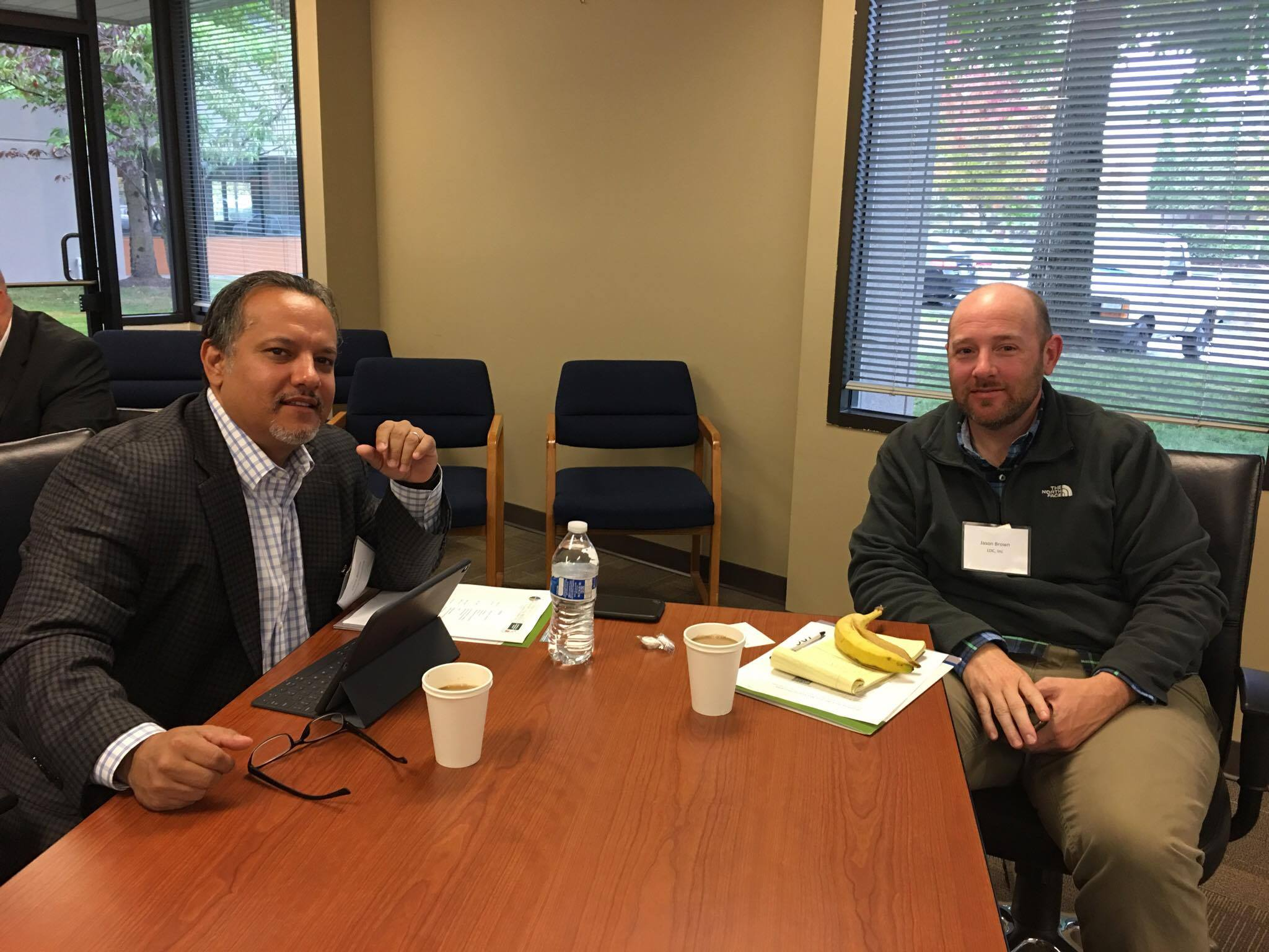 Chris Barrios (Nvelup Consulting) and Jason Brown (LDC, Inc.)