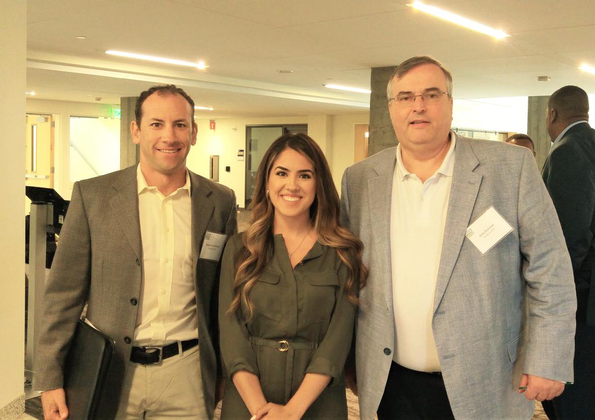 Seabstian Uprimny (inlingua Utah) with Karla Malacon (Northwest Mountain MSDC) and Don Durham (inlingua Utah) at 2017 Annual Conference in Seattle, Washington.