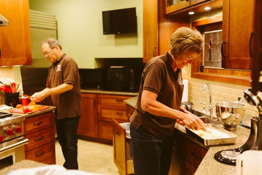 Innkeepers Preparing Breakfast at The Buckingham Inn.jpg