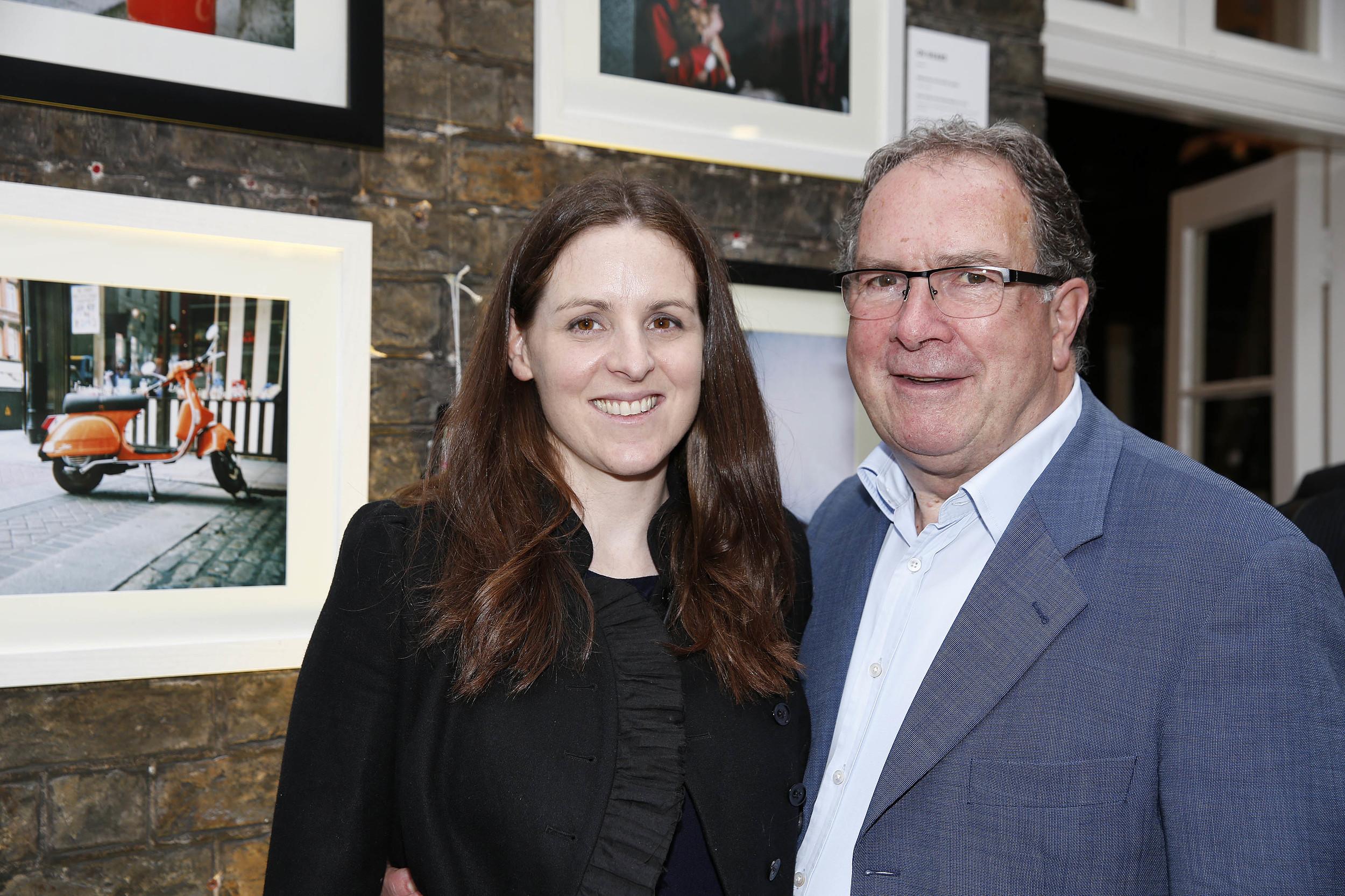 Sam McGuinness, CEO of the Dublin Simon Community, and myself.