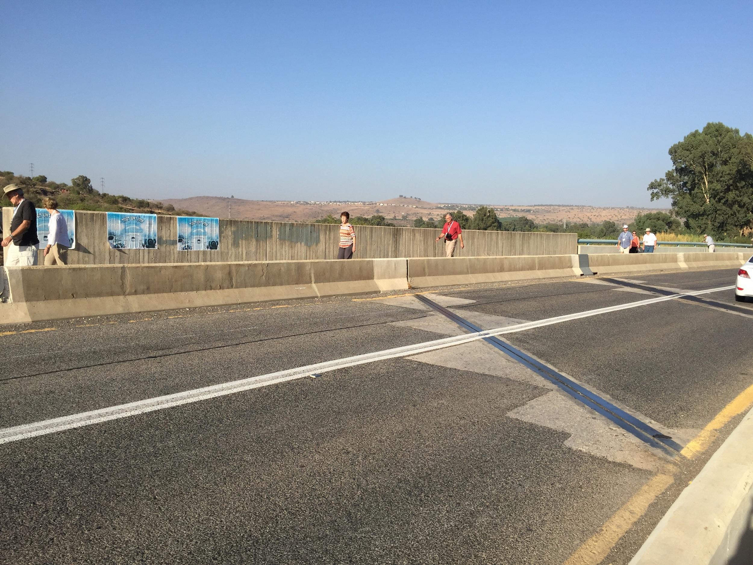 Crossing the Jordan in the 21st century.