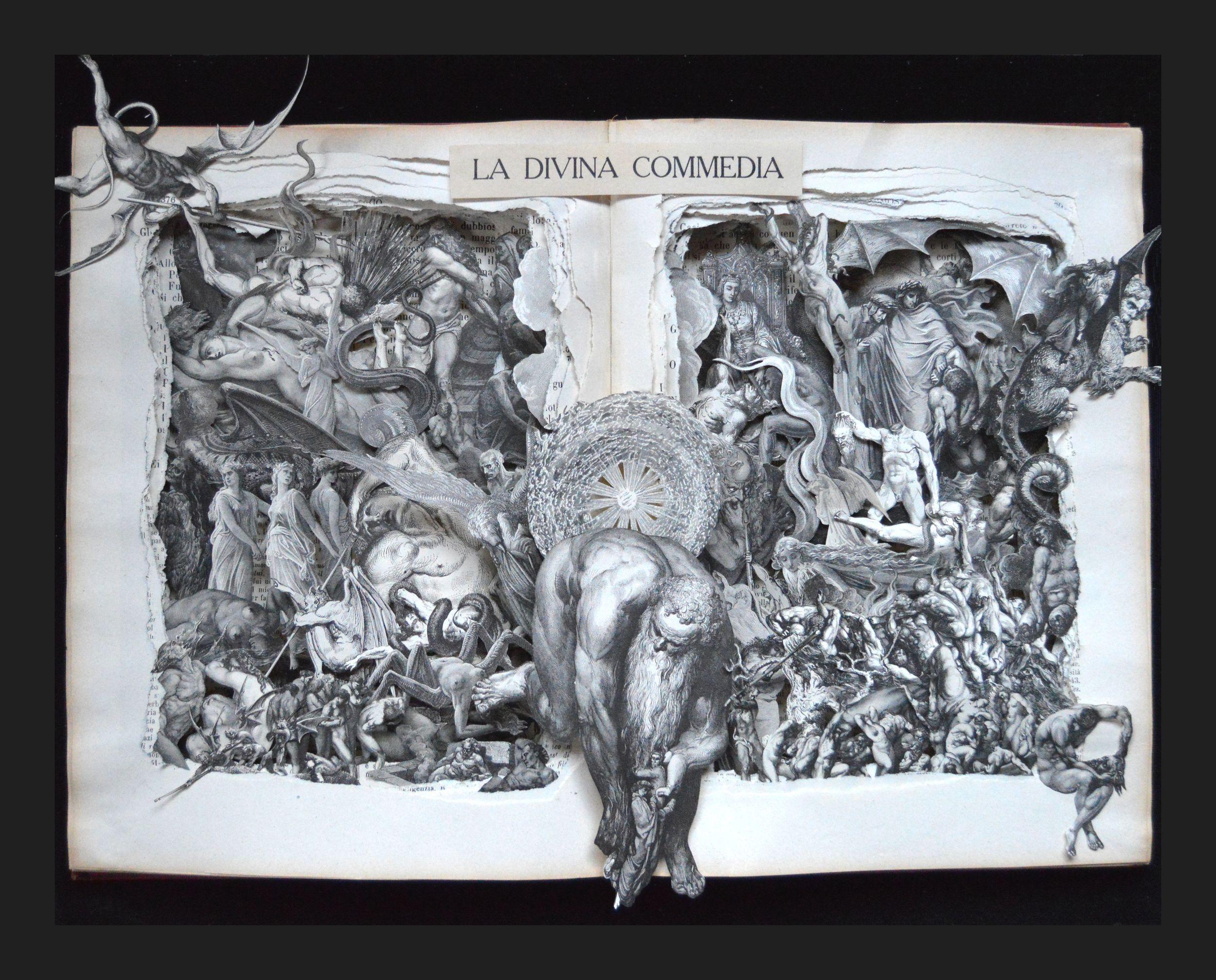 16x20x3 The Divine Comedy
