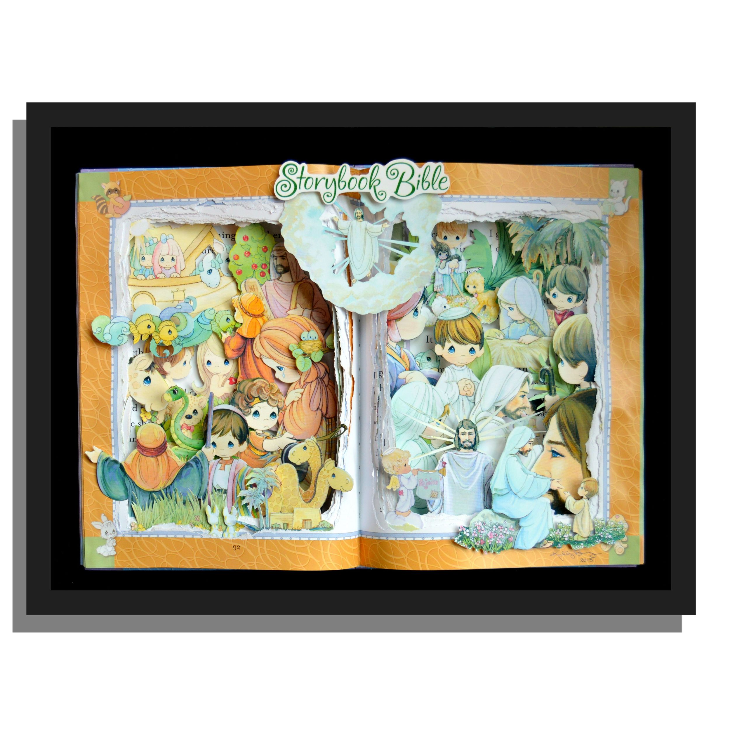 Children's Storybook Bible Custom Order Book Sculpture