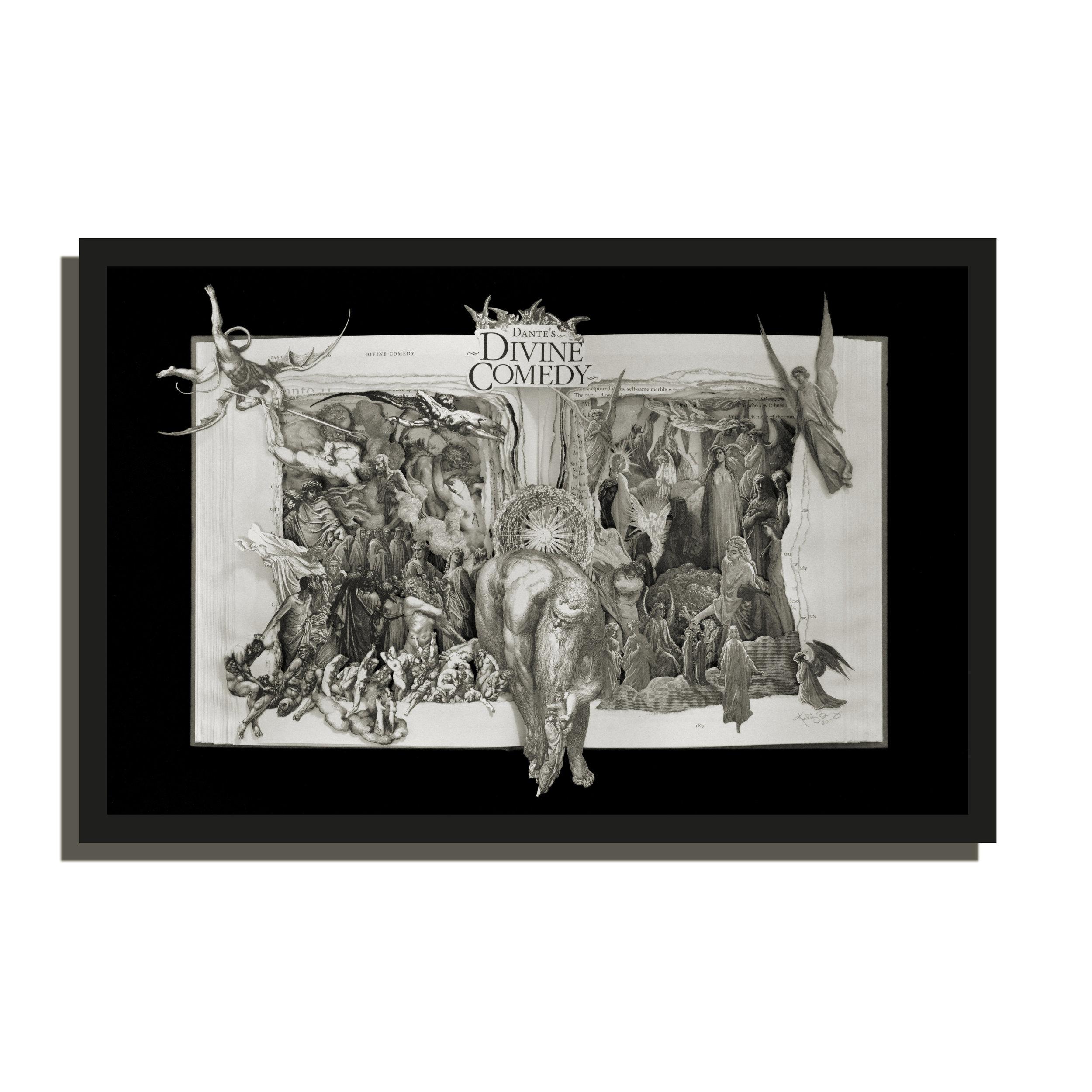 Dante's Divine Comedy - 16x20x3 - This was a Custom Order