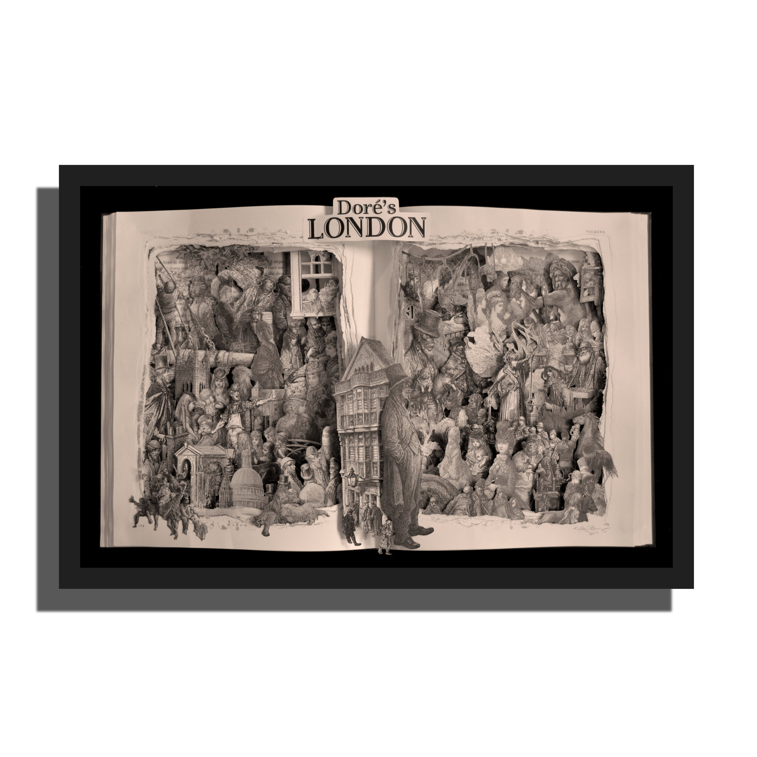 London by Gustave Dore'
