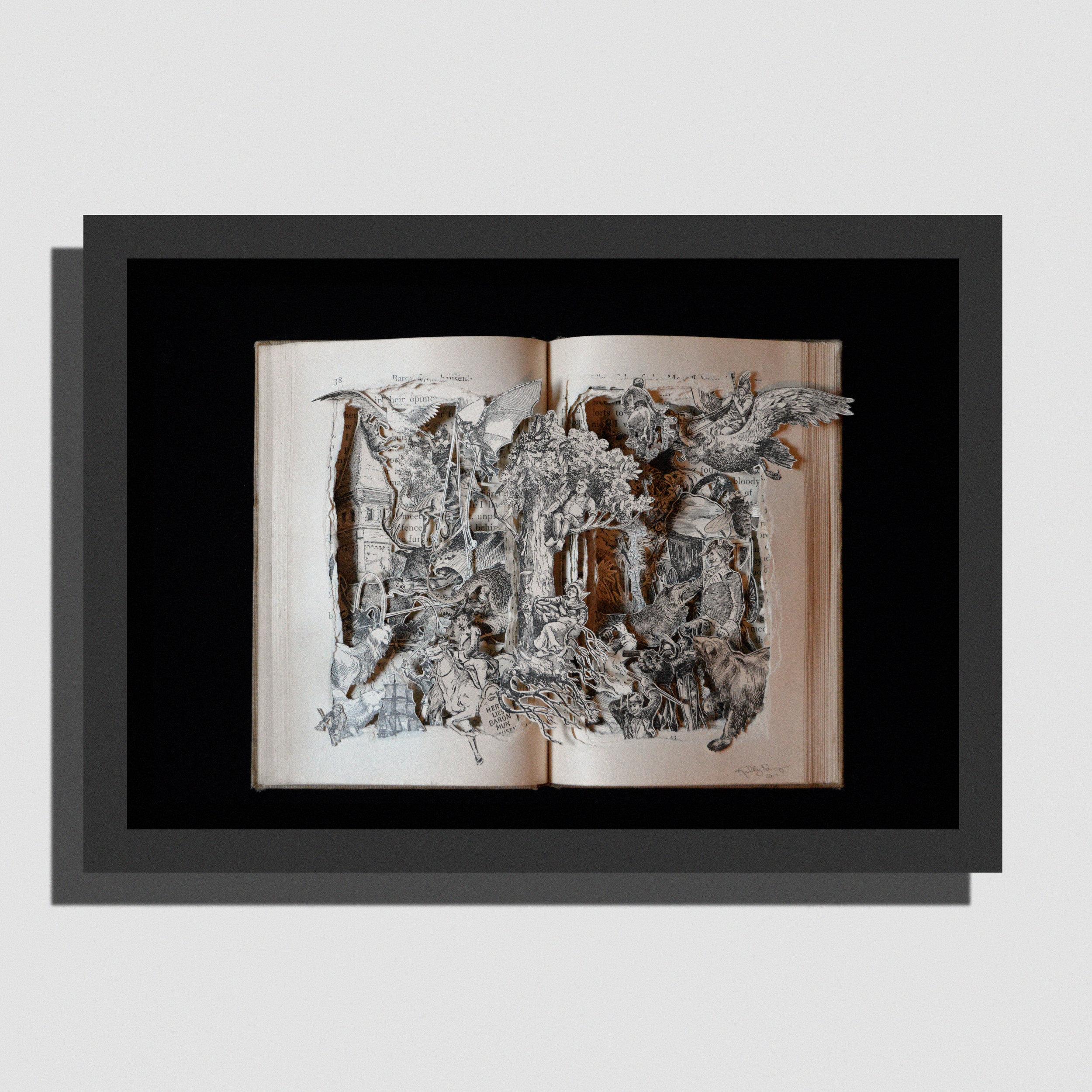 Adventures of Baron Von Munchausen Illustrations by Gustave Dore'