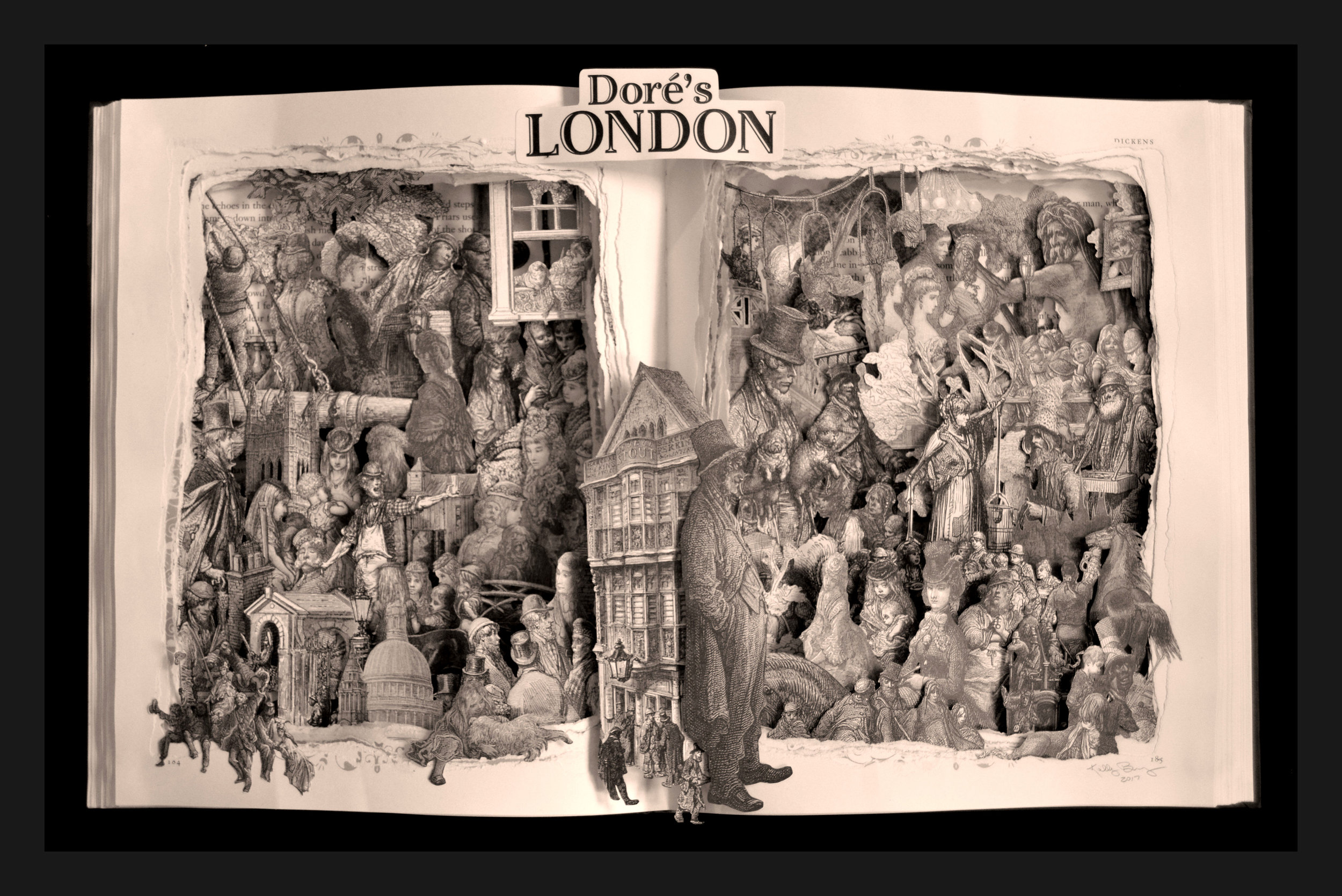 Dore's London Booksculpture 21x17x3.jpg