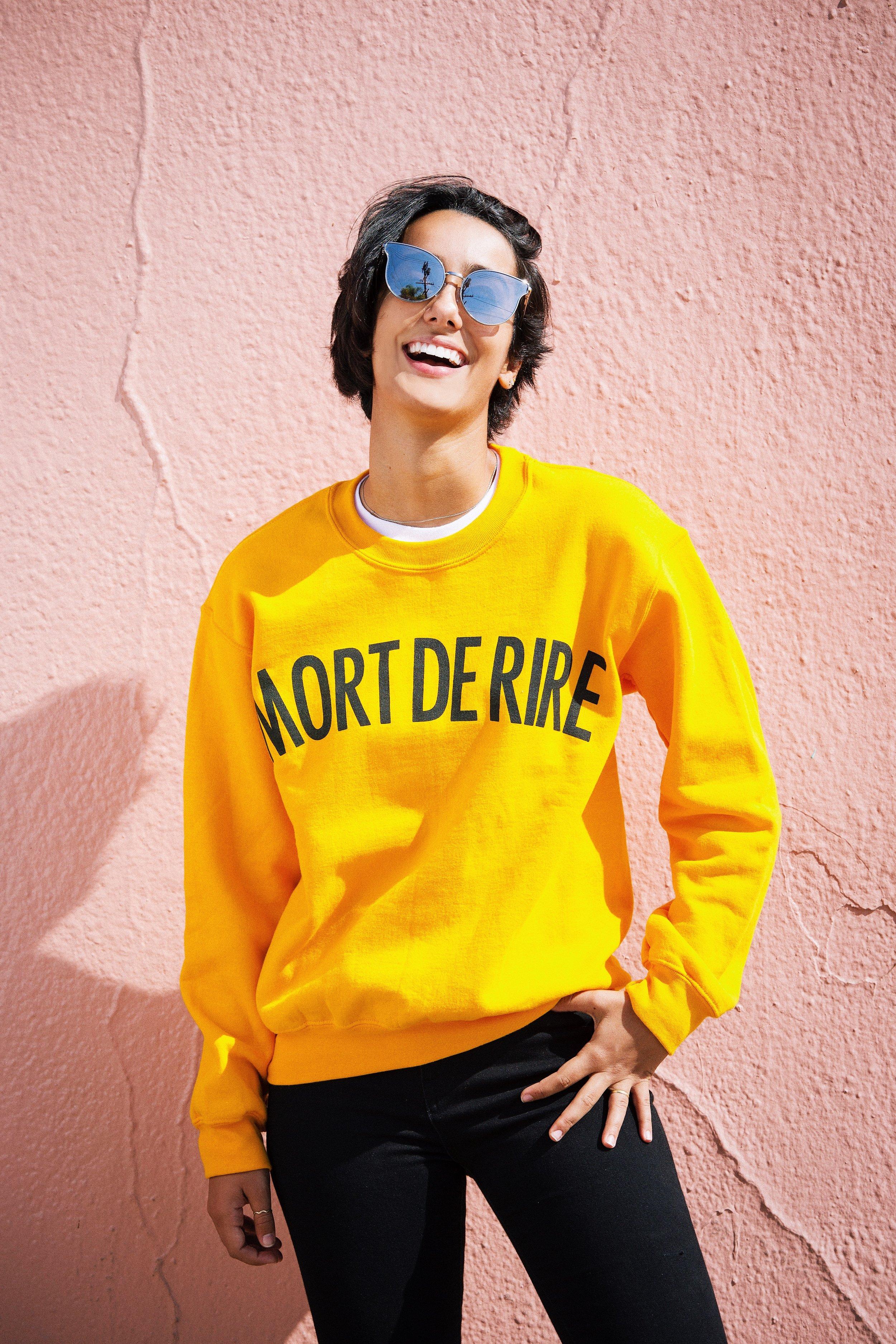 Mort de rire sweatshirt