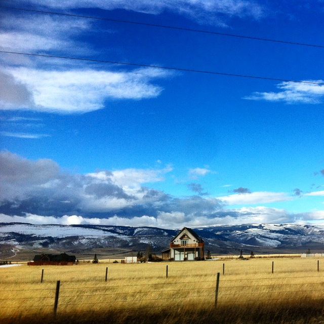 Driving home from WestYellowstone we took the scenic route.