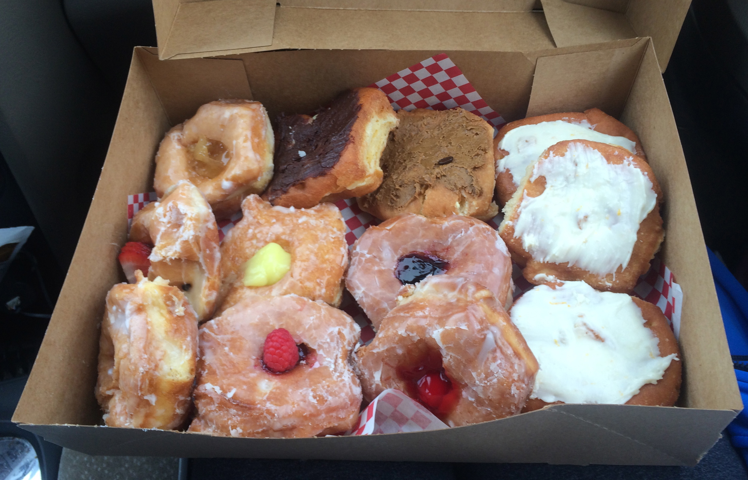Great thing about Bozeman- Granny's Donuts next to MSU campus.