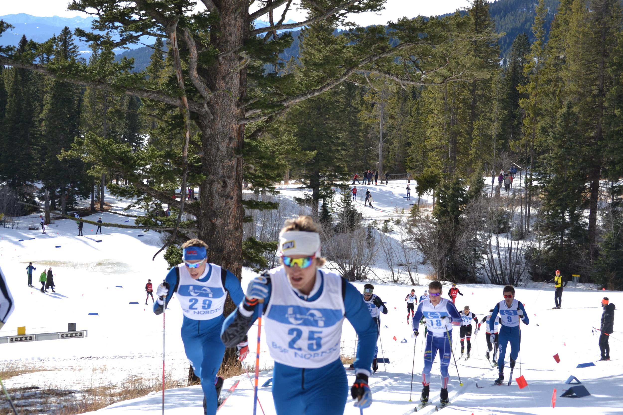 Distance race in Bozeman