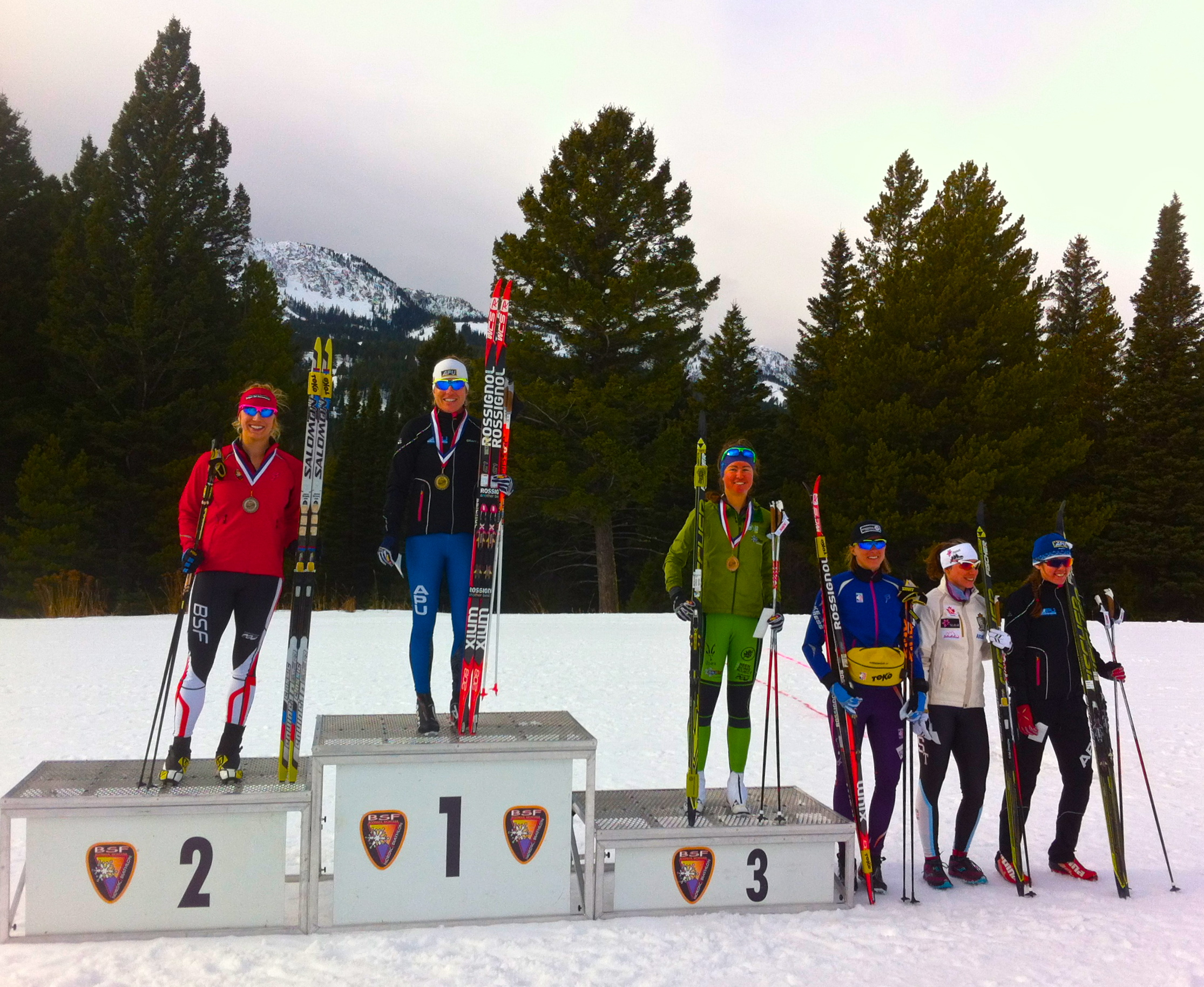 Rosie on the podium once again!!!