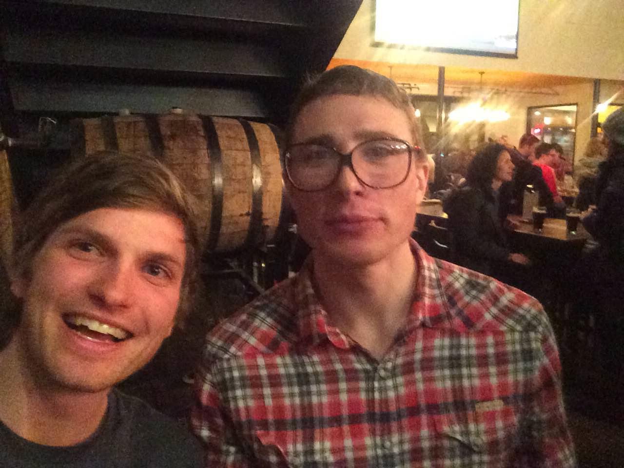 Fun night at Trivia with Tyler Kornfield