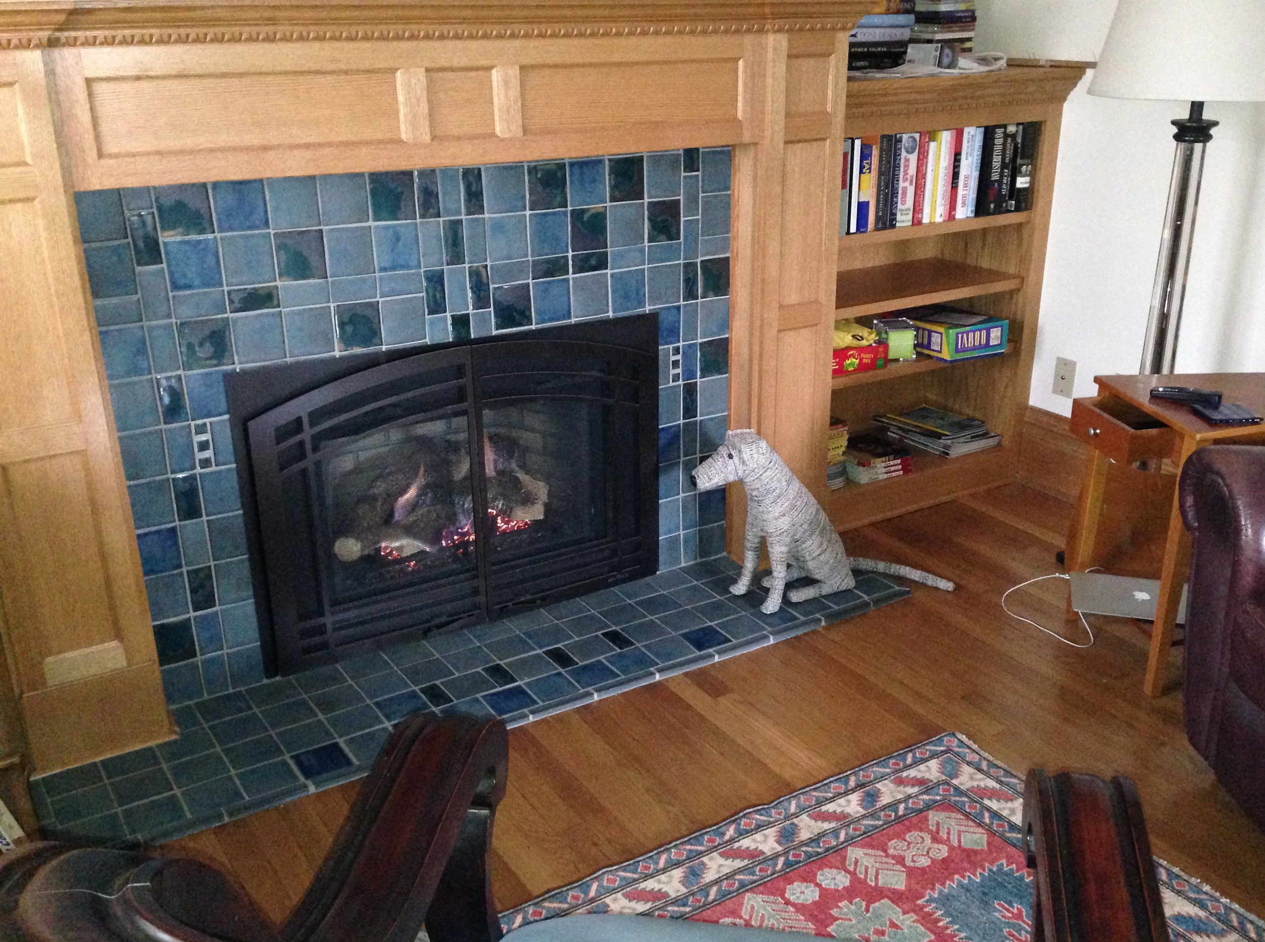 Fireplaces really do matter in Minneapolis!
