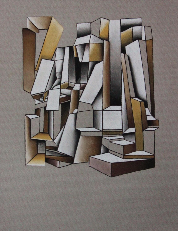 Dirty Keys album cover - Pastel Pencil on paper (20x30cm)