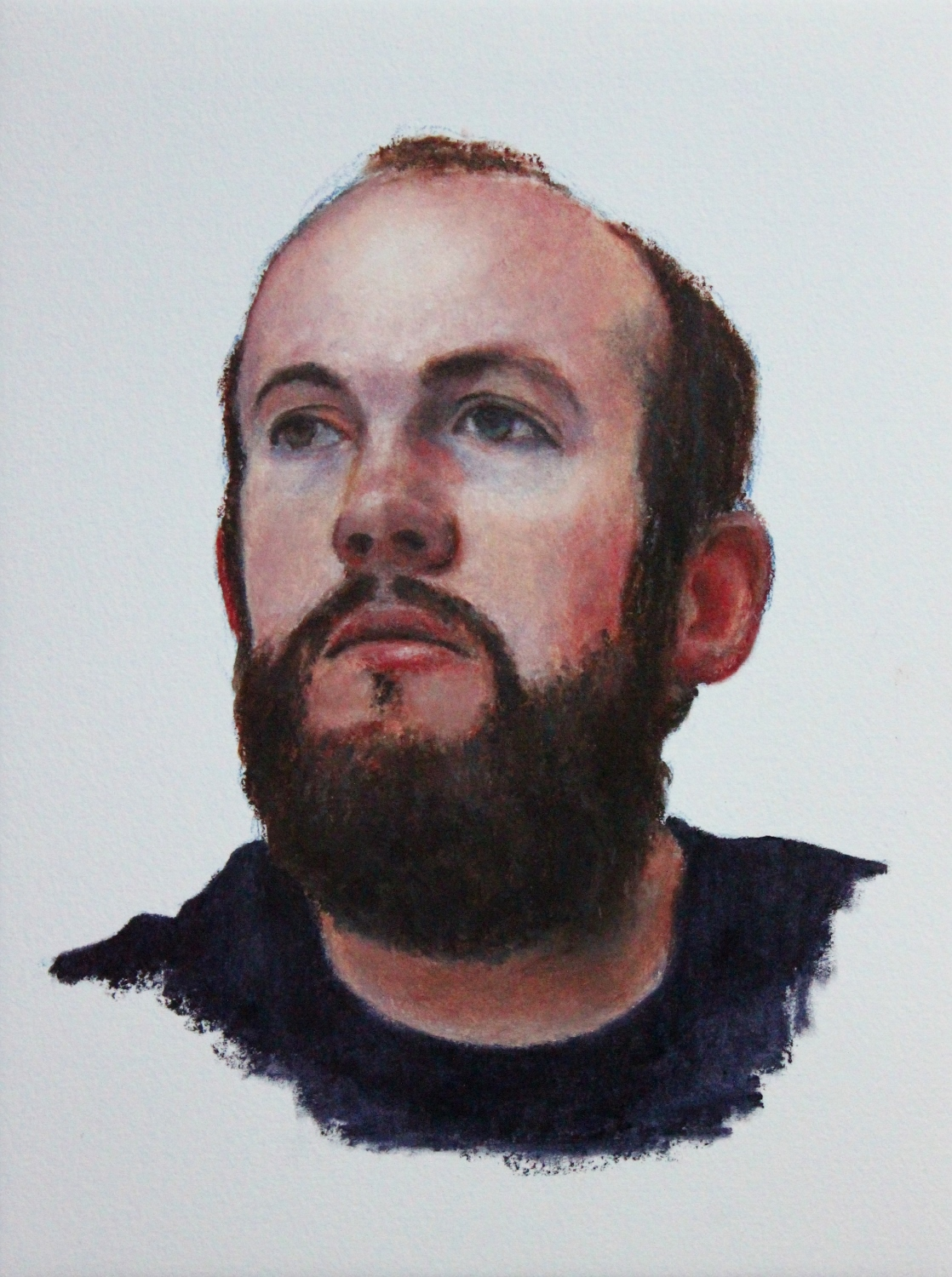 Duncan - Oil Pastel On Paper (23x31cm)