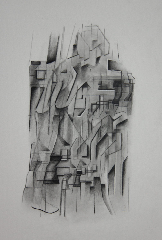Motion - Pencil on Paper (26x36cm)