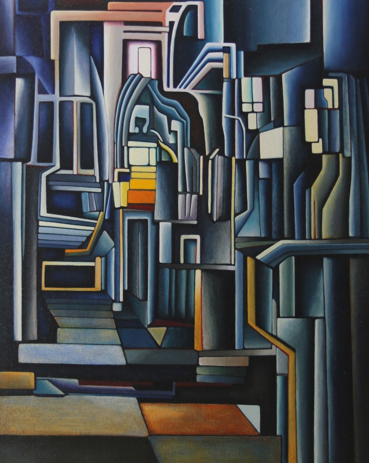 5444 - Oil on Canvas (30x40cm)