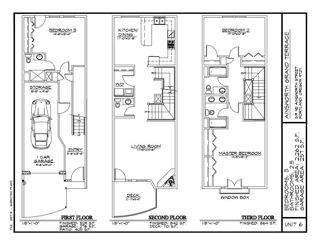 Unit 6 - Floor Plan