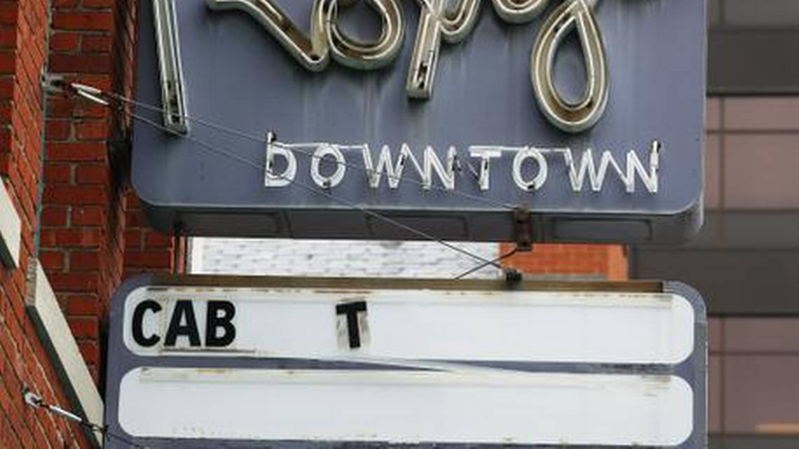The new owners of Cabaret Old Town decided to rename the business Roxy's Downtown, mainly because of the vintage neon sign that has remained in place on the building through the years. Jaime Green - The Wichita Eagle