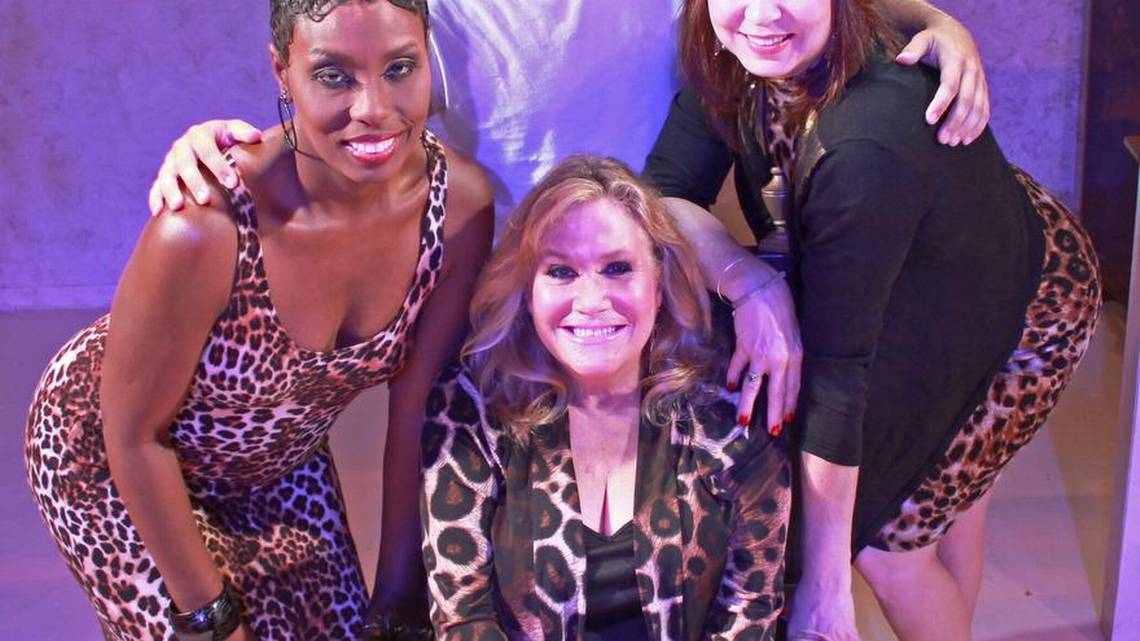 "The off-Broadway show ""Cougar the Musical"" will have its Midwest premiere at Roxy's Downtown. The cast includes, clockwise from left: Ronda Kingwood, Ryan Ehresman, Kelly Wonsetler and Patty Reeder. Courtesy photo"