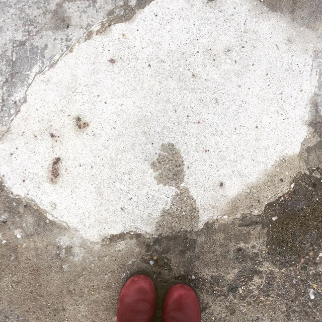 Omg. Can you believe this guy? #thepareidoliaproject #pareidolia #iseefaces #pavementart #streetart #creativeseeing