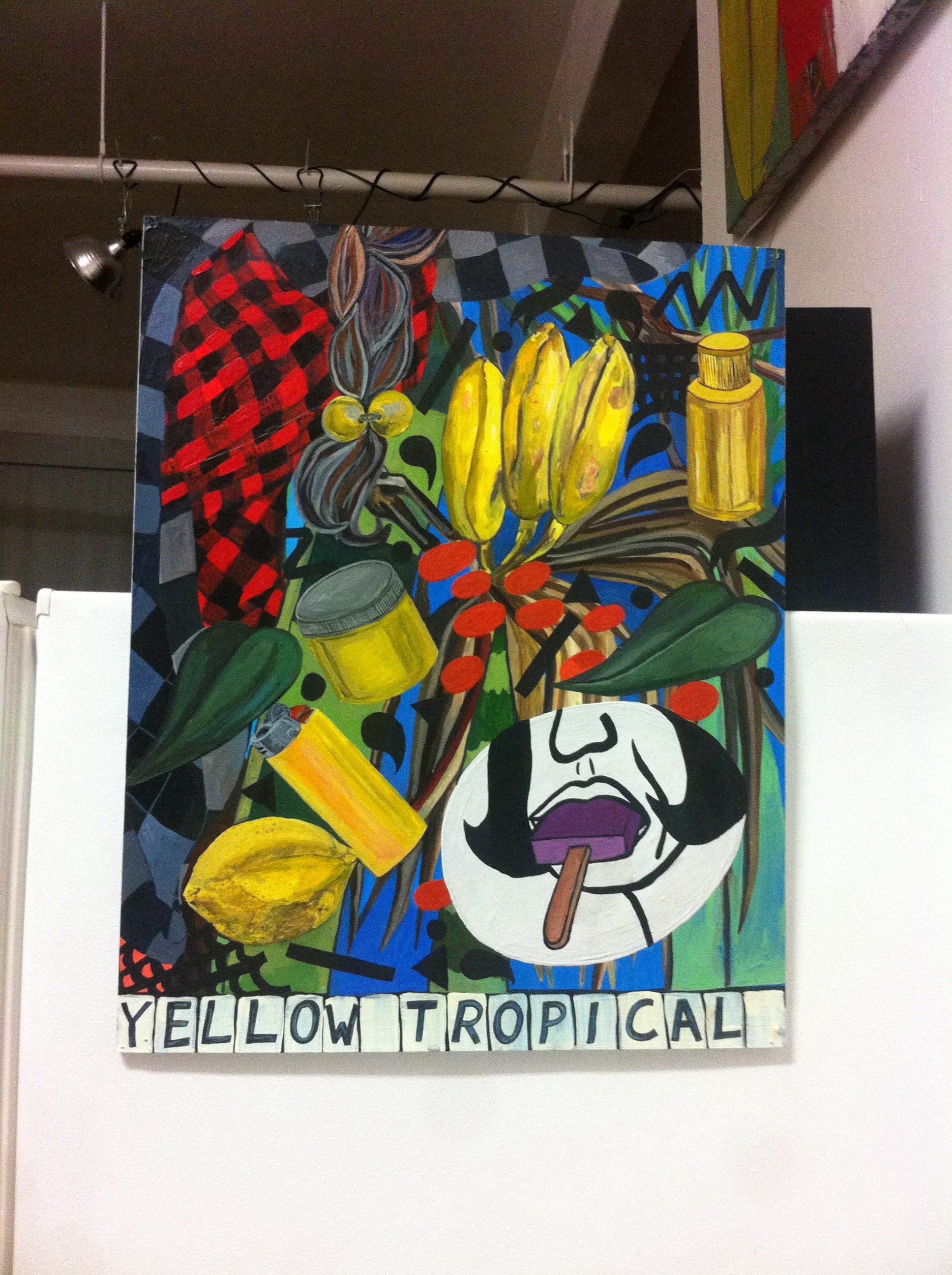 YELLOW TROPICAL_2013_ACRYLIC ON PAPER_NILAY LAWSON.jpg
