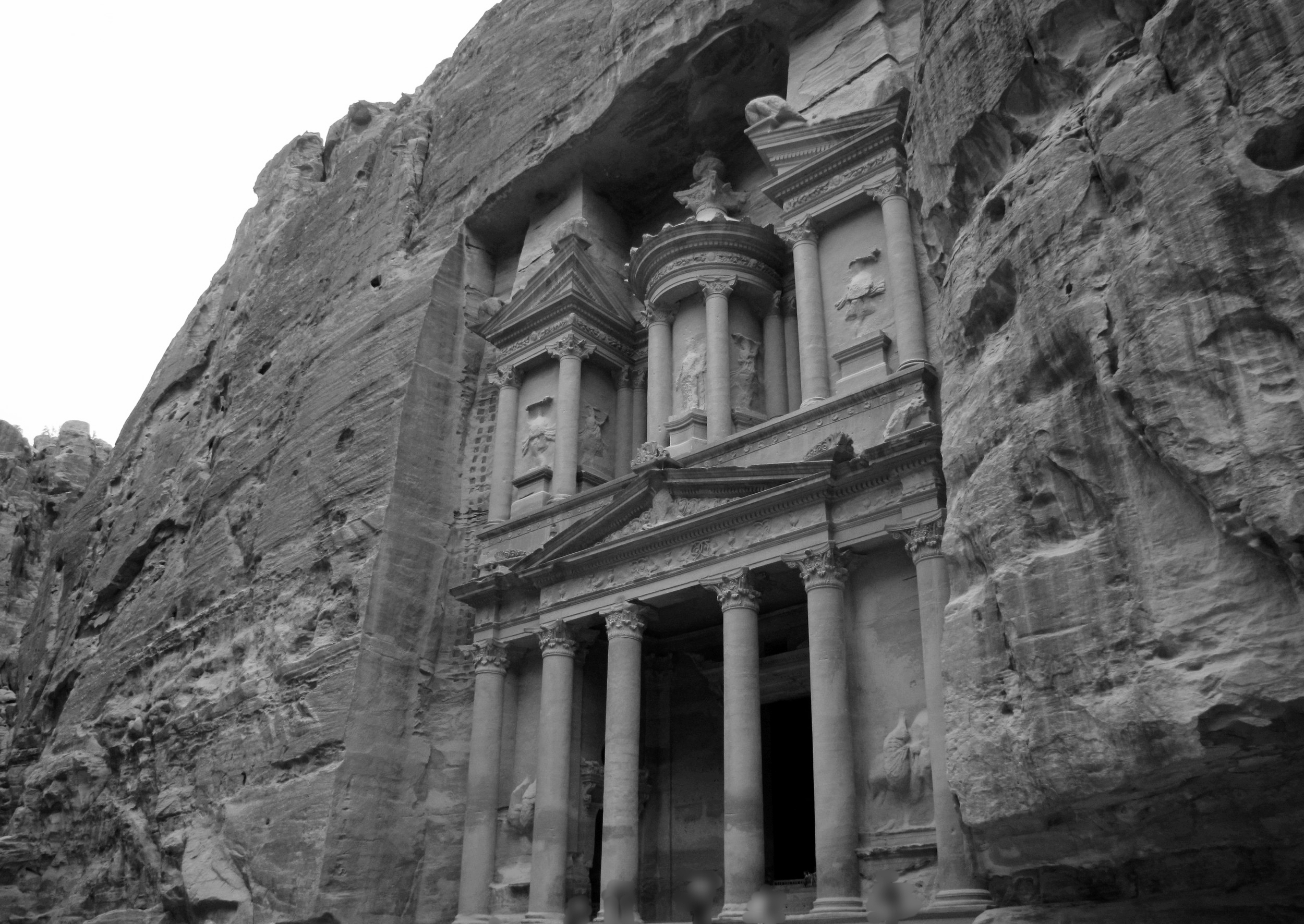 The Treasury at Petra has weathered the centuries