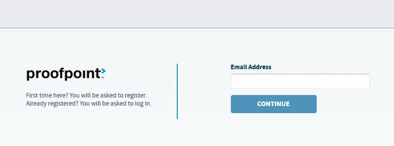 Email Entry Web Page