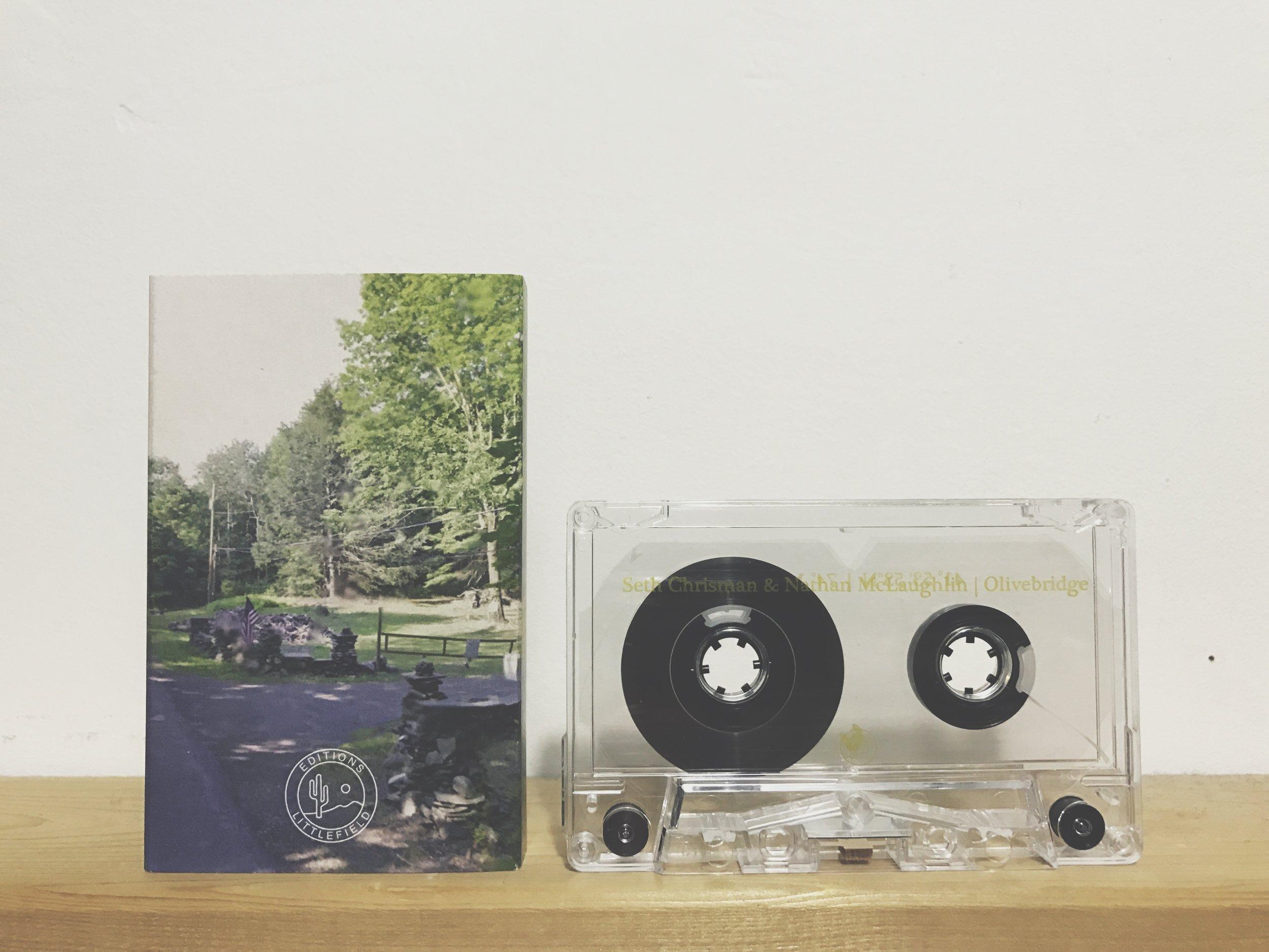 Seth Chrisman & Nathan McLaughlin - Olivebridge (Editions Littlefield)