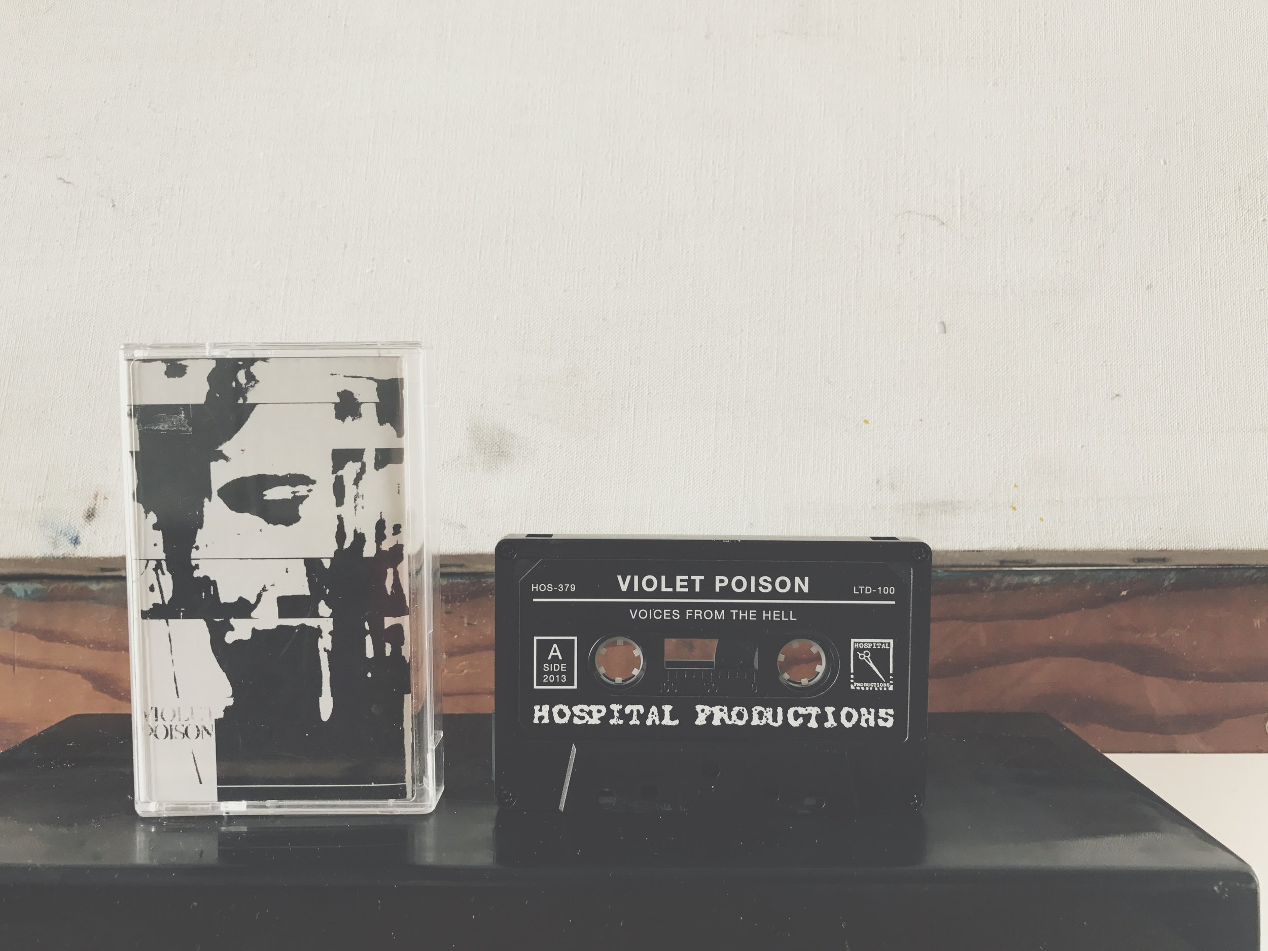 Violet Poison - Voices From The Hell (Hospital Productions)