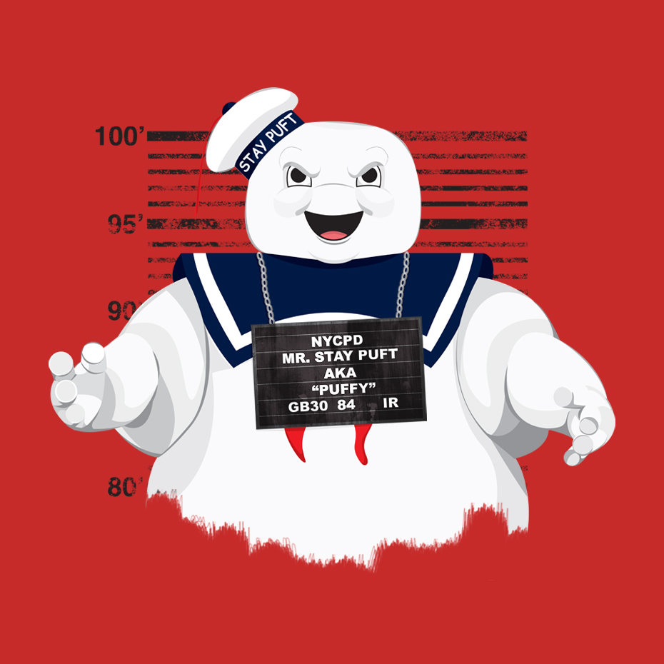 Stay Puft T-Shirt Design for -  Teepublic