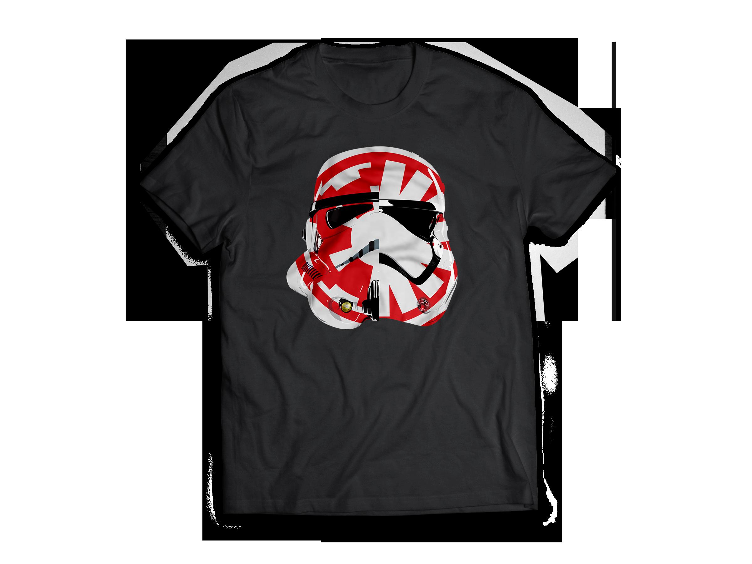 Control the Galaxy Stormtrooper T-shirt Jlane Design Teepublic
