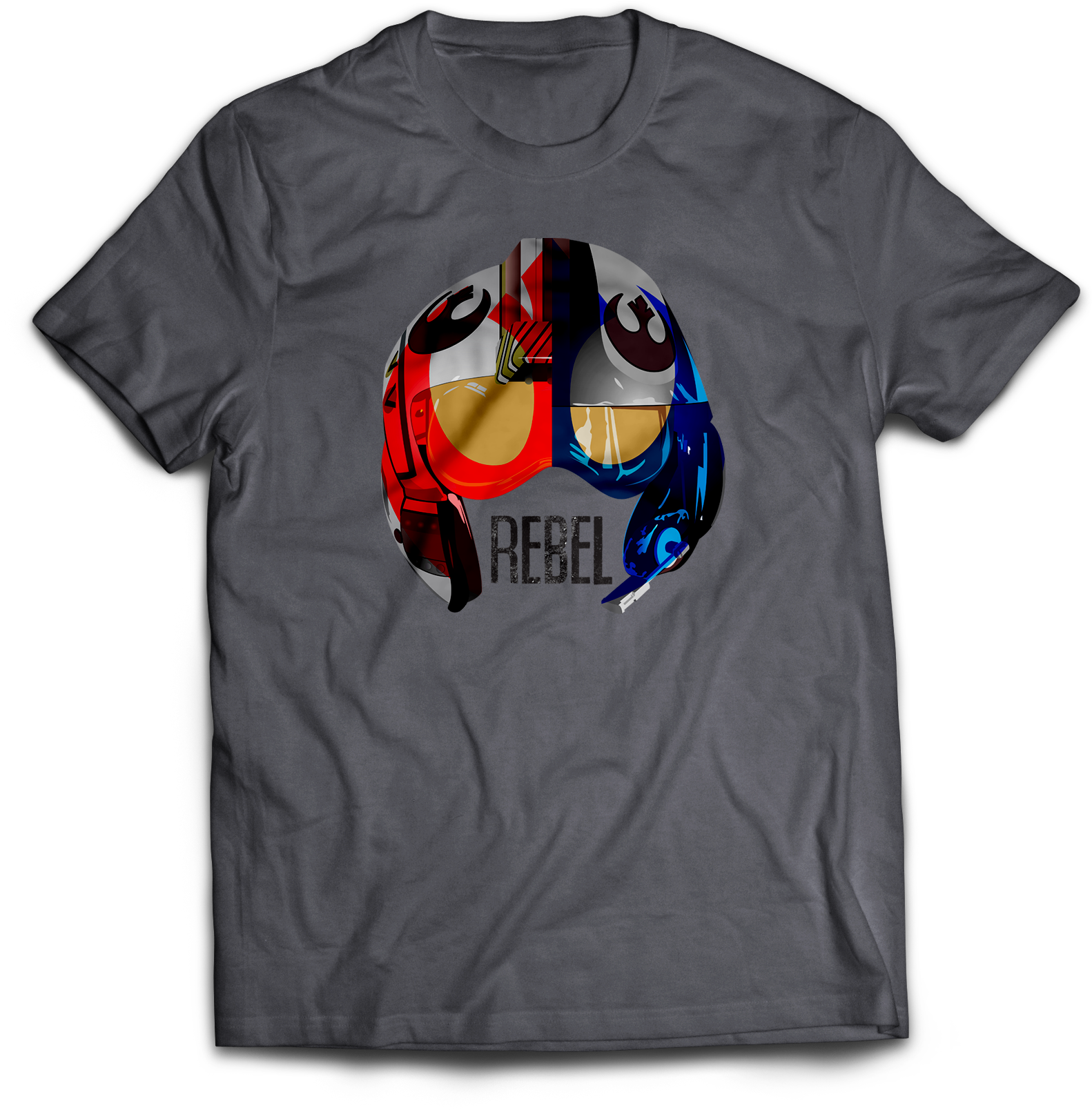 Old Rebel New Resistance x-wing helmet T-shirt Jlane Design Teepublic