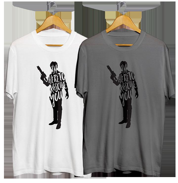 Han Solo quote T-shirt design Jlane Design Teepublic