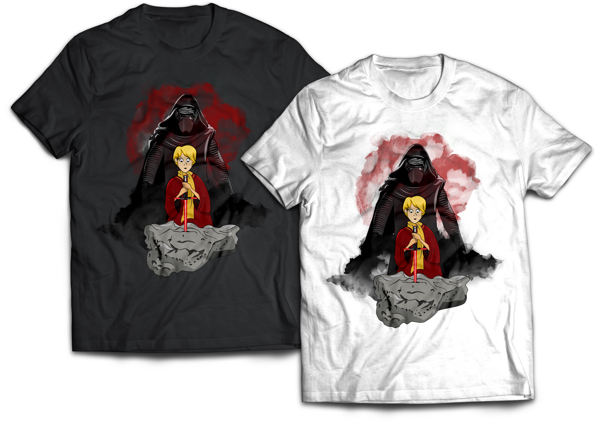 Whoso Pulleth this Sword in the Stone Kylo Ren T-Shirt Jlane Design Teepublic