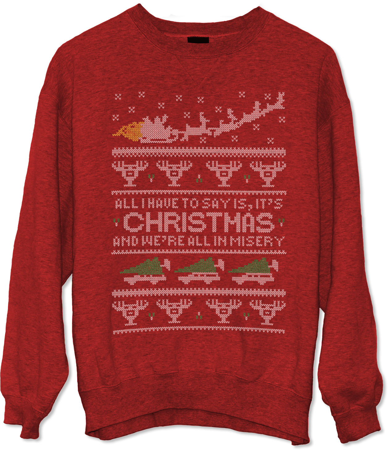 National Lampoon's Christmas Vacation Misery Ugly Christmas Sweater Jlane Design Teepublic