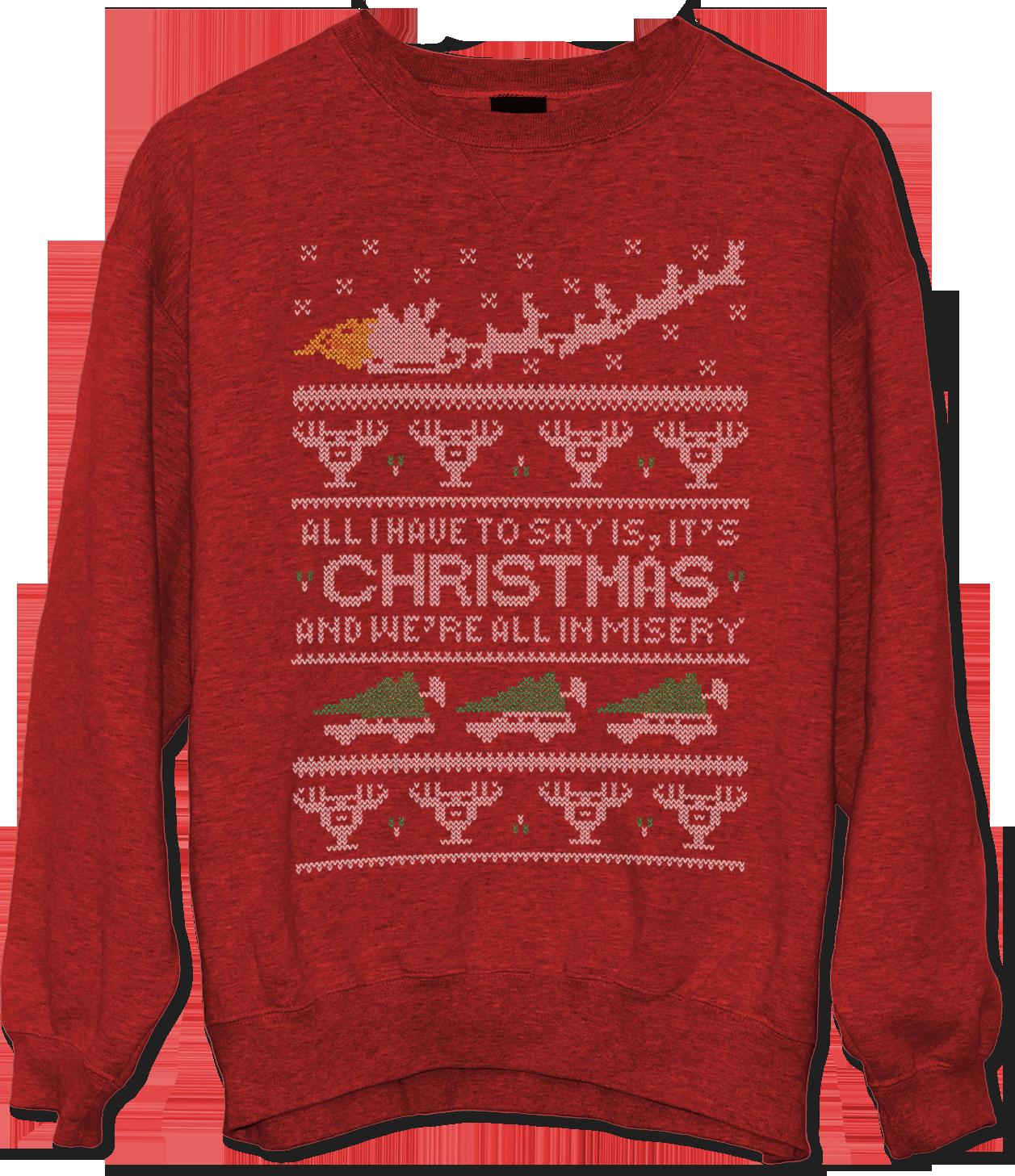 National Lampoon's Christmas Vacation Misery Ugly Christmas Sweater Jlane Design Teepublic