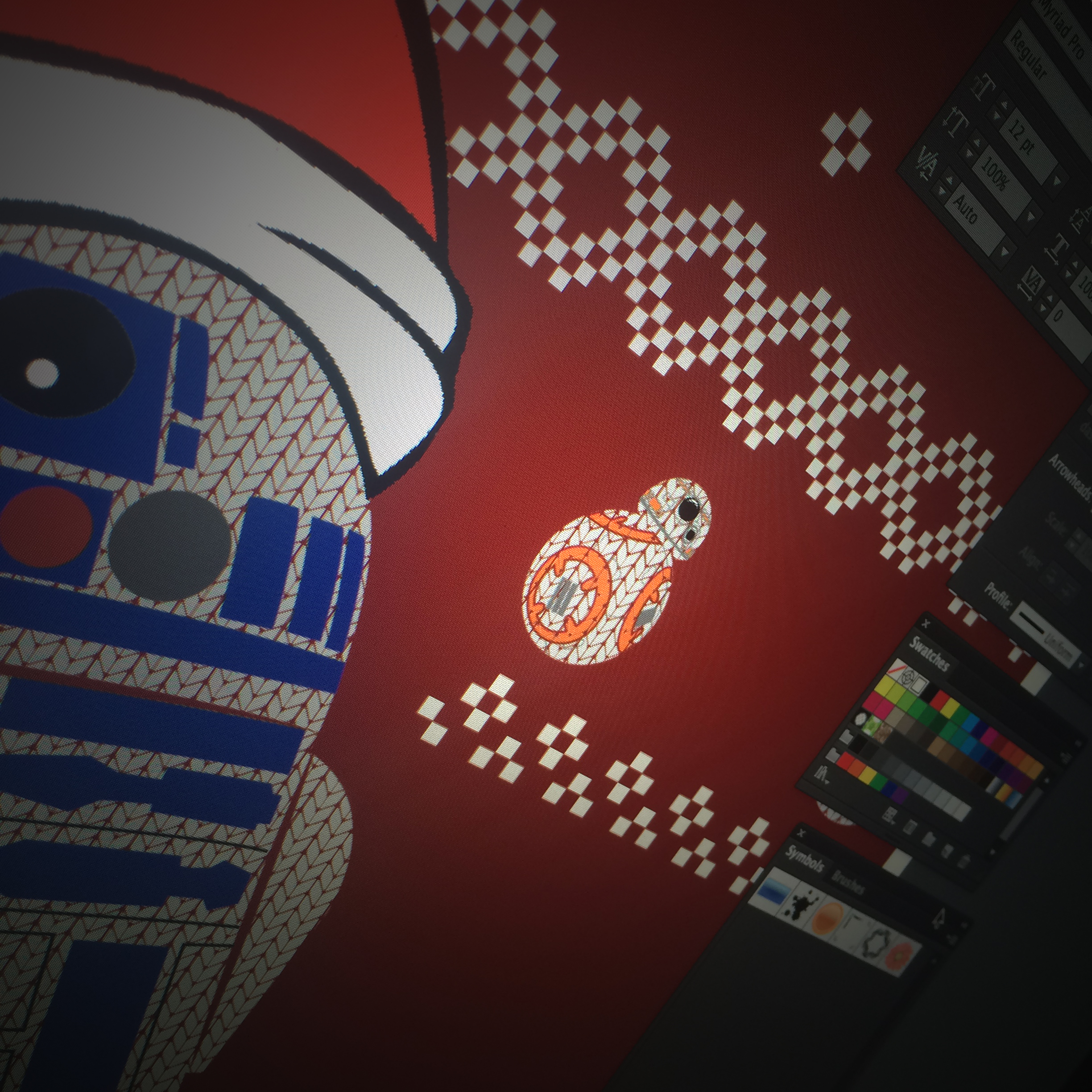 R2-D2 Graphic Design