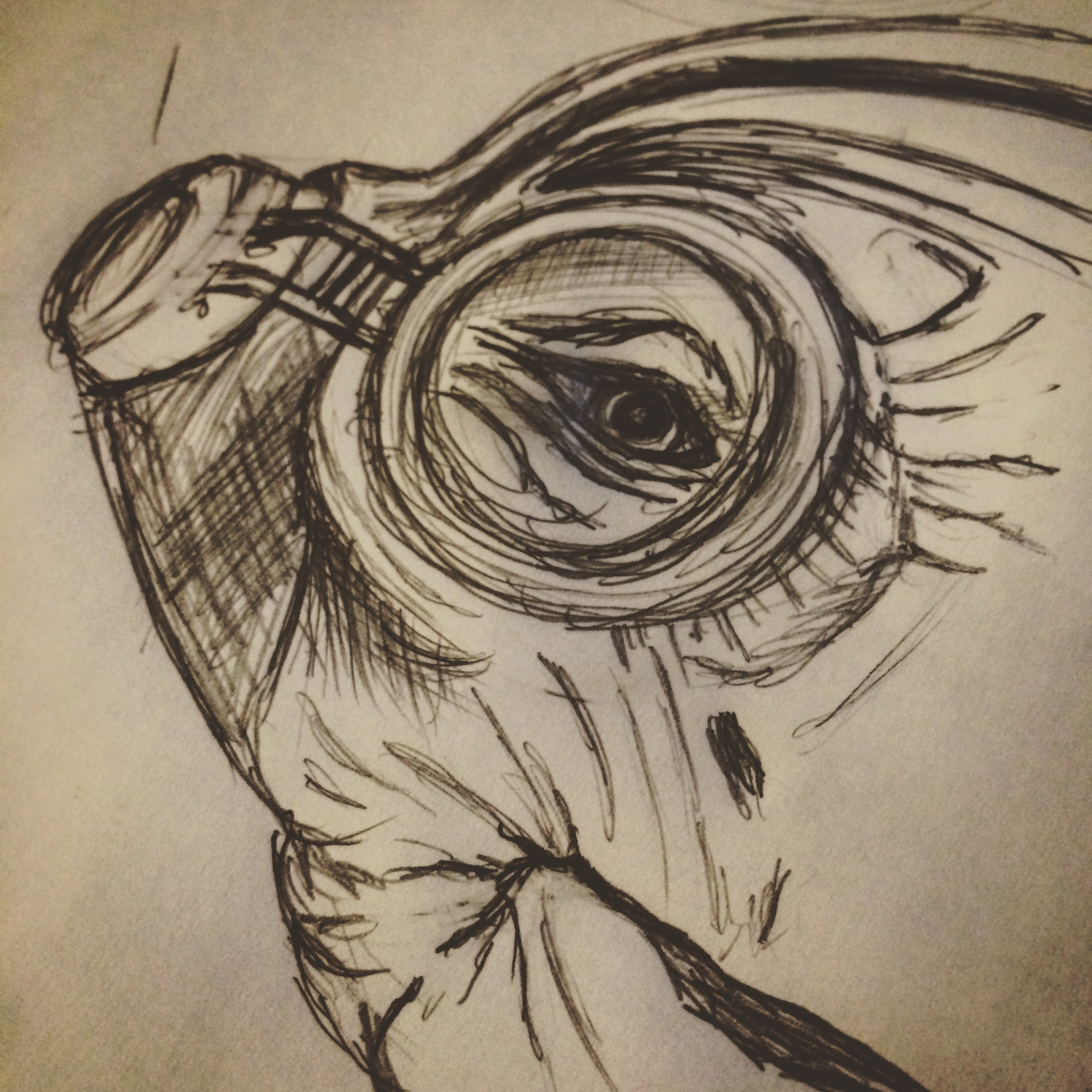 Maz Kanata Star wars Sketch drawing Jlane Design