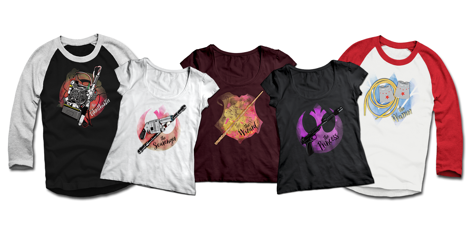 Ghostbusters Harry Potter Wonder Woman Star Wars T-shirts Teepublic