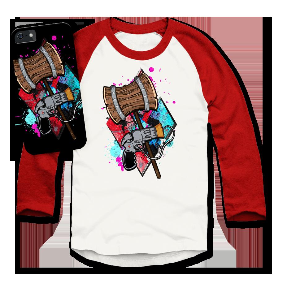 Harley Quinn T-Shirt Phone Case
