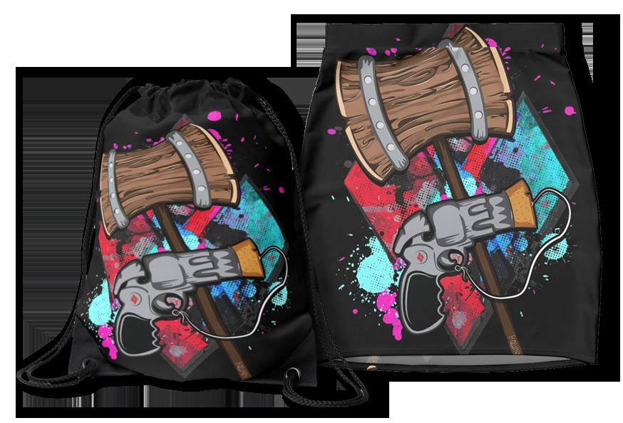 Harley Quinn Pencil Skirt Backpack