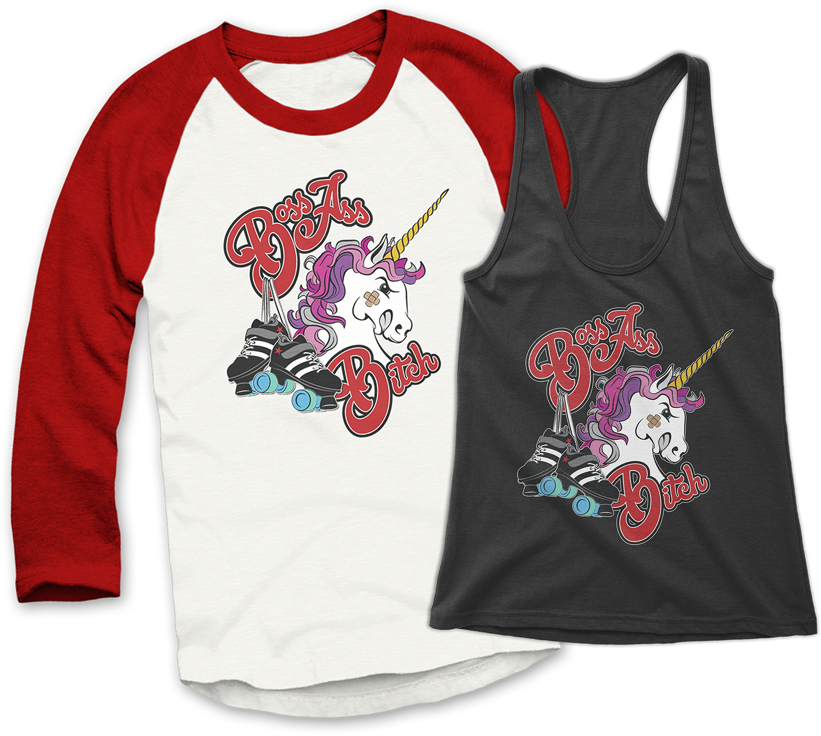 Derby Boss baseball tee and tank top