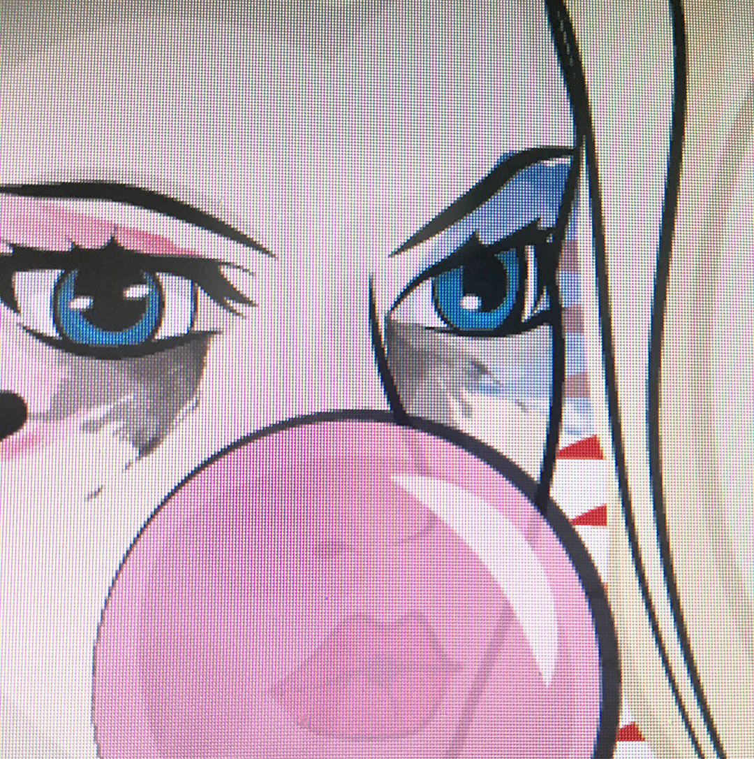 Harley Quinn Digital Design Progress Pic Jlane Design