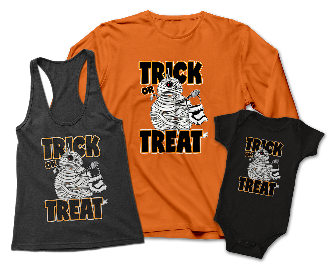 BB-8 Trick or Treat Clothing Teepublic JLane Design