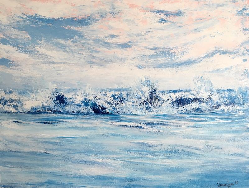 "Lost In Daydreams - 18""x 24"" Acrylic on Canvas"