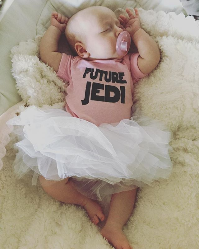 Duh!!! #jlanedesign #graphicdesign #artist #futurejedi #starwars #baby