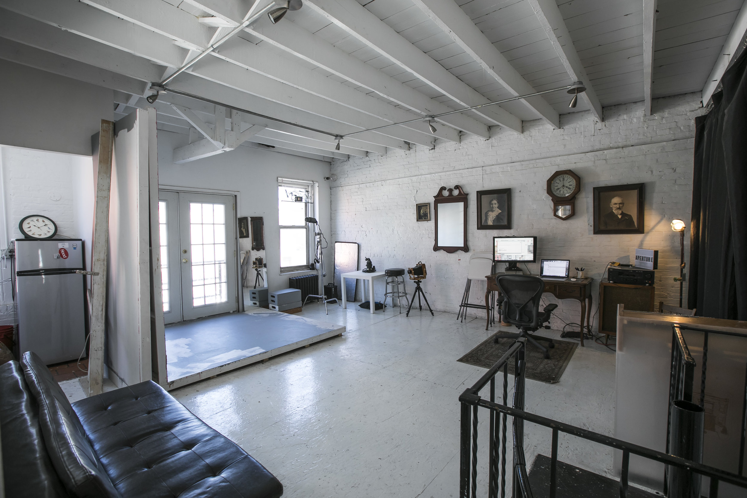 Upstairs Loft for Shooting, Production, and Collaboration.  Jesse Winter LLC HQ