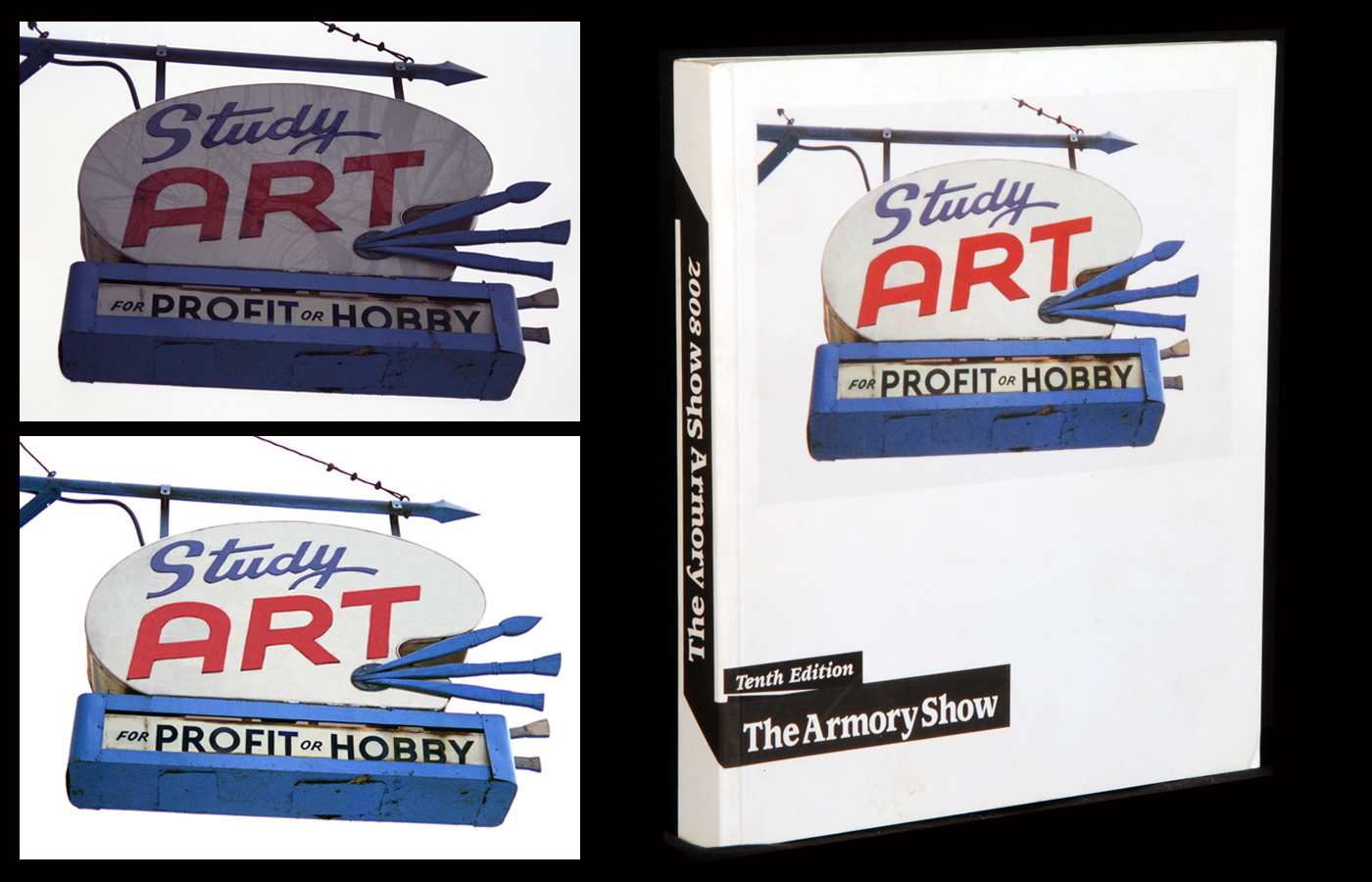 Armory show book cover  John Waters